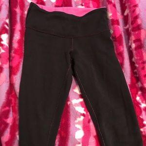 Black reversible Lululemon leggings - S